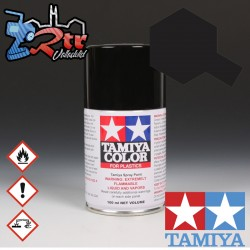 TS-29 Spray Negro Semi Brillante 100Ml Tamiya Plásticos