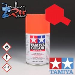 TS-36 Spray Rojo Fluorescente 100Ml Tamiya Plásticos
