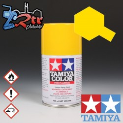TS-47 Spray Amarillo Cromado 100Ml Tamiya Plásticos