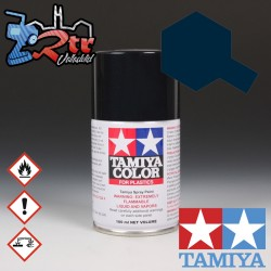 TS-64 Spray Azul Mica Oscuro 100Ml Tamiya Plásticos