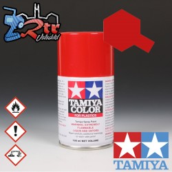 TS-85 Spray Ferray Rojo Mica Brillante 100Ml Tamiya Plásticos