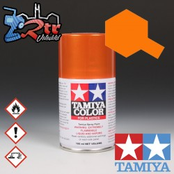 TS-92 Spray Anaranjado Metalico 100Ml Tamiya Plásticos