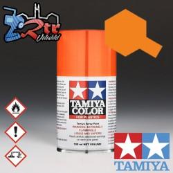 TS-98 Spray Anaranjado Puro 100Ml Tamiya Plásticos
