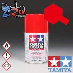 TS-86 Spray Rojo Puro 100Ml Tamiya Plásticos