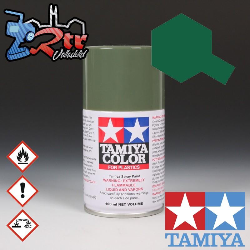 TS-91 Spray Verde Oscuro (JGSDF) 100Ml Tamiya Plásticos