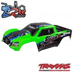 Carrocería cuerpo Pintado Verde Traxxas X-Maxx TRA7811G