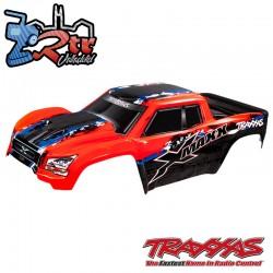 Carrocería cuerpo Pintado Rojo Traxxas X-Maxx TRA7811R