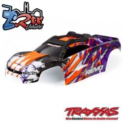 Carrocería Retrografithp Purpura Traxxas E-revo Vxl 2.0 TRA8611T