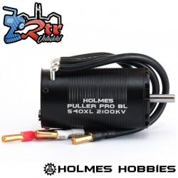 Motor Brushless Puller Pro BL 540 XL 2100Kv Holmes Hobbies