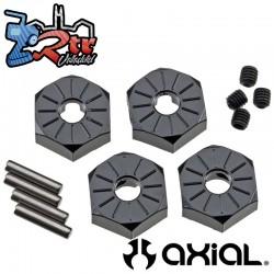 Hexagonos aluminio estrecho de 12 mm 4 piezas AX30427