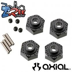 Hexágonos aluminio 12 mm 4 piezas Axial AXIC0429