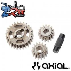 Juego de engranajes de caja en T (32P 15T, 32P 15T, 32P 27T) Axial AX31131