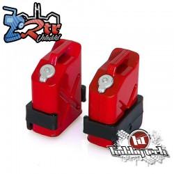 Bidón de gasolina  Hobbytech Jerry Can rojo 2 piezas