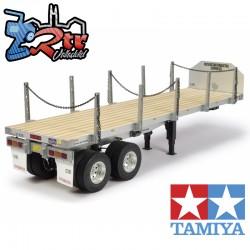 Tamiya Semirremolque de plataforma para camiones 1/14