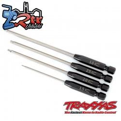 Juego de brocas de velocidad destornillador hexagonal recto de 4 piezas Traxxas TRA8715X