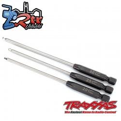 Destornilladores Hexagonales 3 piezas 2, 2.5, 3mm Traxxas TRA8716X