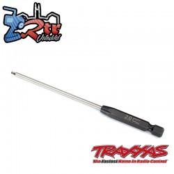 Broca de velocidad Hexagonal 2.0mm (110 mm de longitud) Traxxas TRA8716-20