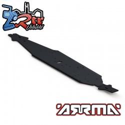 Chasis de aluminio LWB Arrma 1/8 AR320197