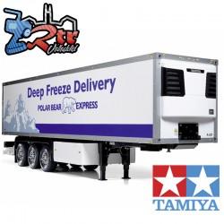 Tamiya Semirremolque Refrigerado de 3 ejes 1/14