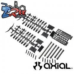 Conjunto de enlaces Delanteros SCX10 II (aluminio) AX31465