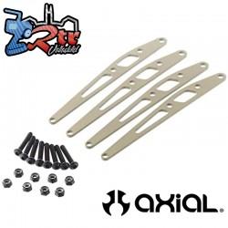Juego de placas de enlace inferior de aluminio Axial AX31245