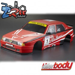 Carrocería Alfa Romeo 75 Turbo Evoluzione 1/10 Pintada 195mm Rally