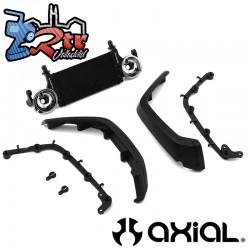 Radiador y guardabarros delantero Jeep JLU SCX10III Axial AXI230020