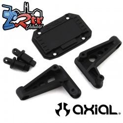 Conjunto de montaje en el cuerpo trasero Jeep JLU SCX10III Axial AXI230023