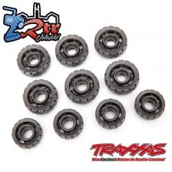 Ruedas de tensión ruedas de carretera Traxx Traxxas TRA8891