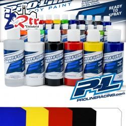 Pintura Proline Lexan Colores Primarios Pintura Lexan Proline 60Ml