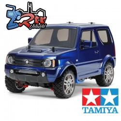 Tamiya Suzuki Jimny JB23 Azul Metalico Pintado MF-01X 1/10 4Wd