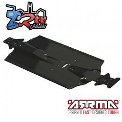 Chasis Arrma Placa de aluminio ARA320514