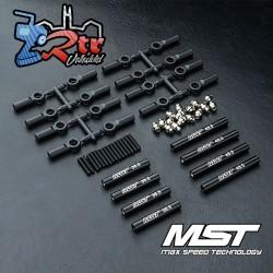 Juego de Tirantes MST fabricado en aluminio 242mm CMX...
