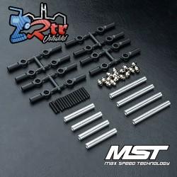 Juego de Tirantes MST fabricado en aluminio 242mm CMX MST210536S
