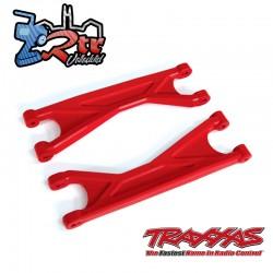 Brazo de suspensión superior Endurecido X-Maxx TRA7829R Rojo
