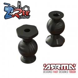 Bolas de Pivote M4x11x19.5mm Arrma ARA330629