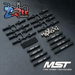 Juego de Tirantes MST fabricado en aluminio 252mm CMX MST210537BK
