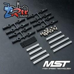 Juego de Tirantes MST fabricado en aluminio 252mm CMX MST210537S