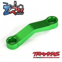 Enlace de arrastre, mecanizado de aluminio Verde TRA6845G