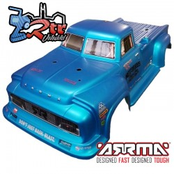 Carrocería Arrma Notorious 6S BLX Azul Metalico 1/8 AR406152
