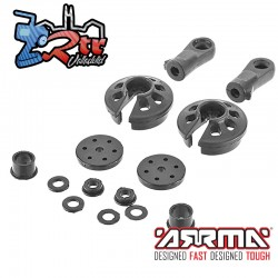 Conjunto de piezas de choque compuesto Arrma AR330203