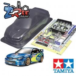 Carrocería Subaru Impreza WRC 07 190mm Tamiya 51289