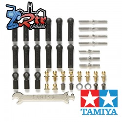Juego completo de tensores TT-02B Tamiya 54539