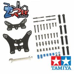 Torres de carbon delanteros y traseros TT-02B Tamiya 54754