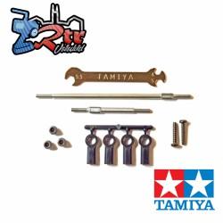 Juego de tirantes ajustables de acero inoxidable CC-02 Tamiya 54929