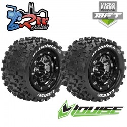 Ruedas 17mm Monster 1/10 Louise MFT-MT-UPHILL 1/2 Outset Pegadas Rellenas LR-T3330SBC