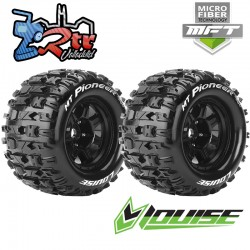 Ruedas 17mm Monster 1/8 Louise  MFT-MT-PIONEER 1/2 Outset Pegadas Rellenas