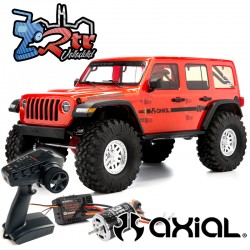 Axial Crawler SCX10 III Jeep JL Wrangler Rubicon 1/10 RTR Anaranjado