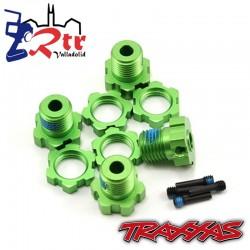 Hexágonos Originales Traxxas TRA5353G Verde