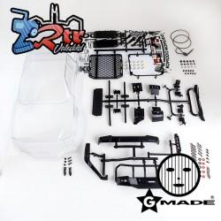 Carrocería GMade Komodo GS01 Transparente con accesorios GM40070
